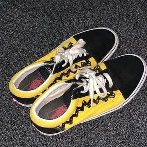 Peanuts Charlie brown snoopy vans shoes